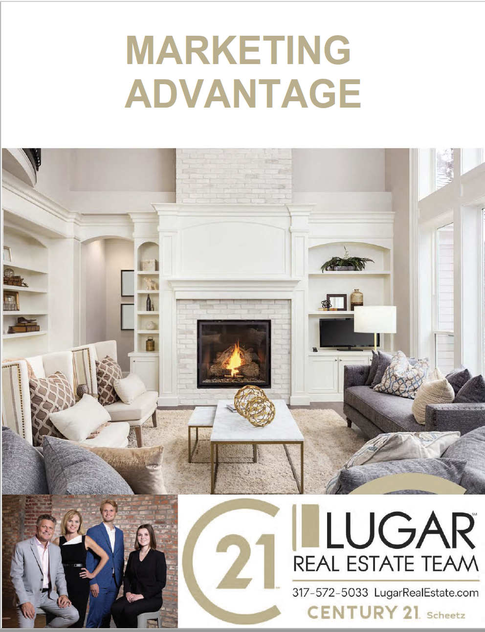 beth lugar, real estate marketing plan 317-995-1128